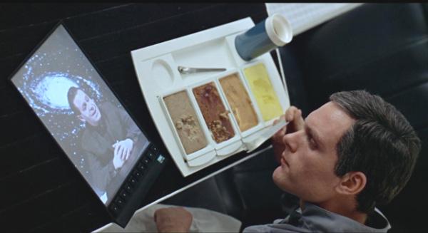 Fotograma de 2001: una odisea en el espacio