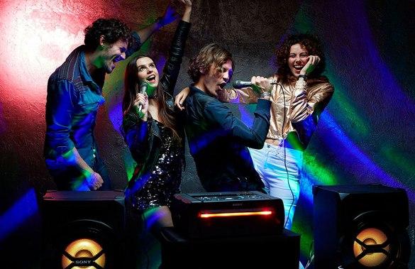 Sistema de audio Sony SHAKEX309 con función de karaoke en ielectro