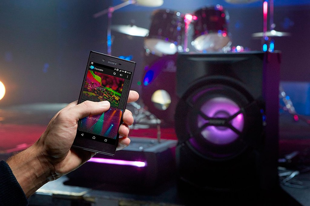 Sistema de audio Sony SHAKEX30PI en ielectro