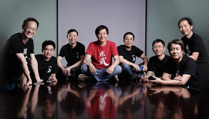 Fundadores de Xiaomi, marca que encontrarás en ielectro